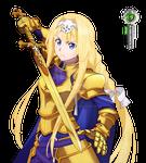 Sword Art Online:Alice Kakoii Swordmaster PNG