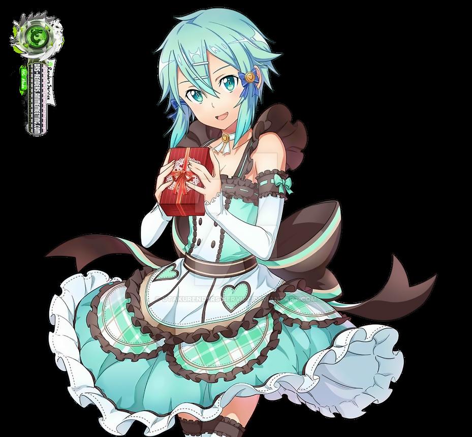 Sword Art Online Sinon Hyper Kawaiii Valentine PNG By