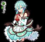 Sword Art Online Sinon Hyper Kawaiii Valentine PNG