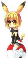 Pika pikachu girl by StarryPeach