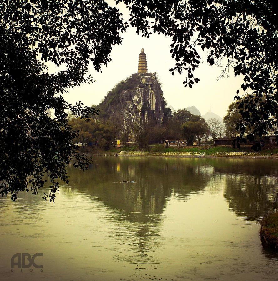 Hidden Pagoda by acechong