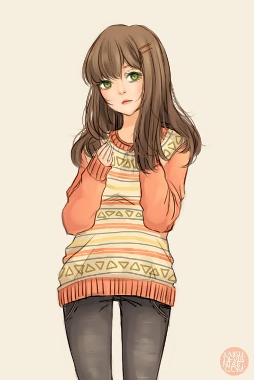 Stay warm! by xaiisu