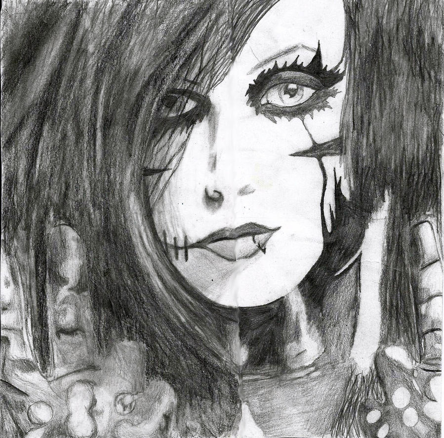 Andy Biersack by wolfluv95