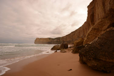 Fallen cliffs by nazgulXVII