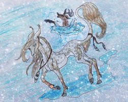 Don't follow an Oakfern on a frozen lake by Nixxily