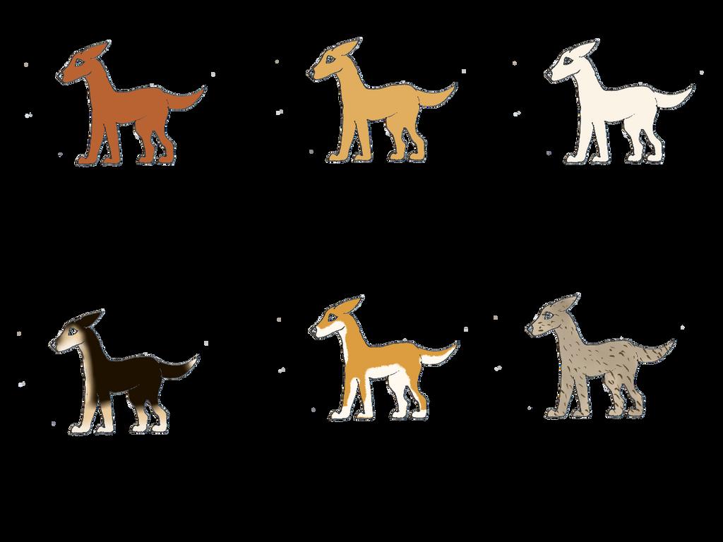 Dog Genetics I Series By Nixxily On Deviantart