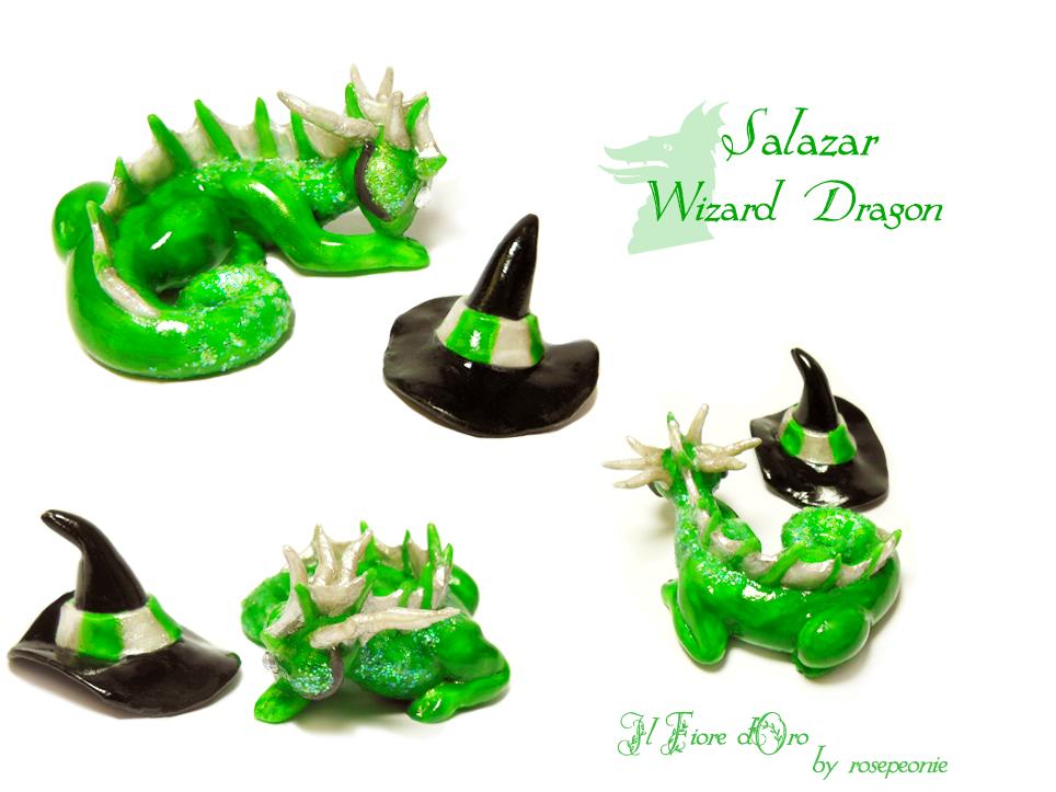 Salazar, wizard dragon 2 by rosepeonie