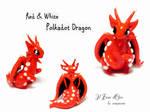 Red and white Polkadot dragon 2