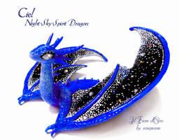 Ciel, Night Sky spirit dragon 2 by rosepeonie