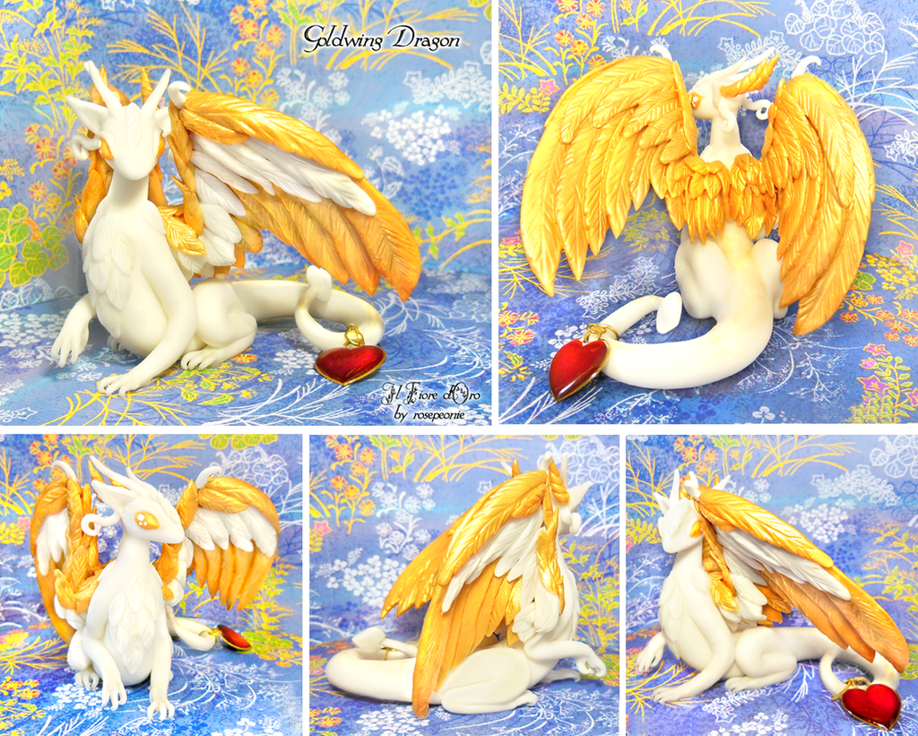 Goldwing with heart ~ by rosepeonie