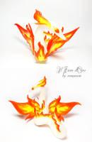 Mom Fire Spirit Dragon 3 by rosepeonie