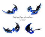 Night Spirit Dragon with constellations