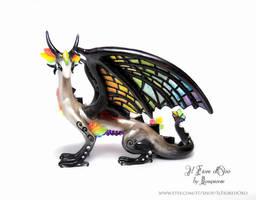 Rainbow Glasswing deluxe by rosepeonie