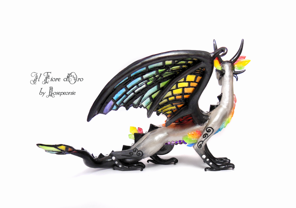 Rainbow Glasswing deluxe 3 by rosepeonie
