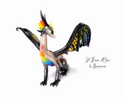 Rainbow Glasswing deluxe 4 by rosepeonie