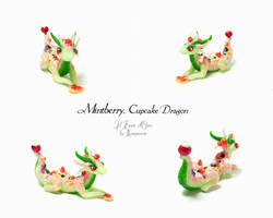 Cupcake Dragon Mintberry by rosepeonie