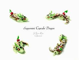 Cupcake Dragon Sugarmint by rosepeonie