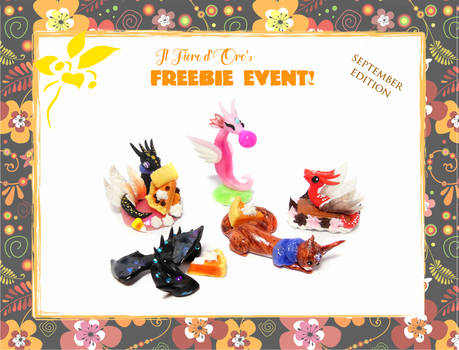 October 2018's freebie event - Bigger gifts