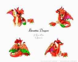 Poinsettia Dragon by rosepeonie