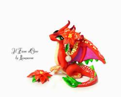 Poinsettia Dragon