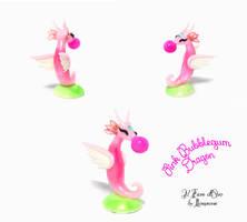 Bubblegum Dragon with gum