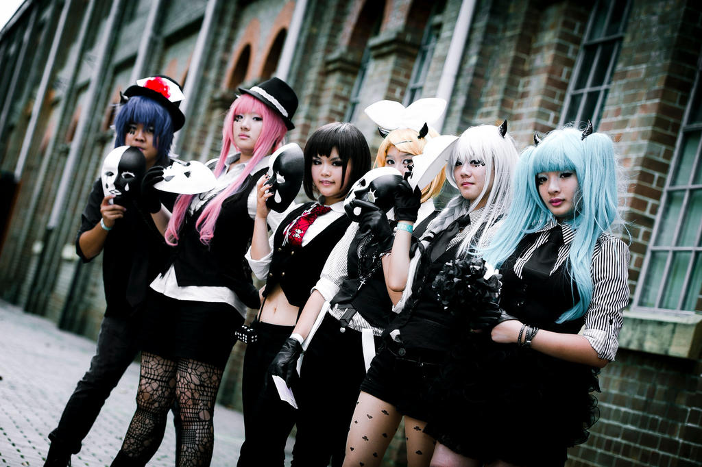 vocaloid pokerface group cosplay by springroll97 on deviantart