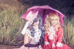 Ciel and Elizabeth - Kuroshitsuji