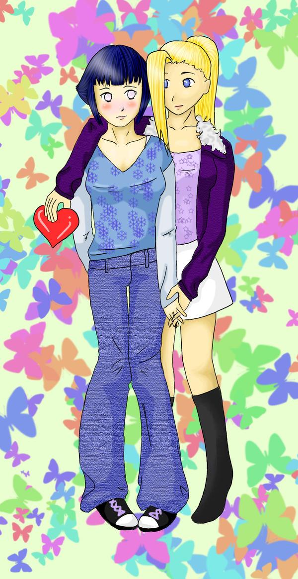 InoHina Valentine by Ariii-chan