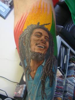 ken patten bob marley tattoo