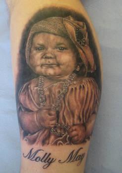 ken patten portrait tattoo.