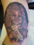 ken patten - portrait tattoo