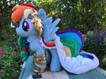 [sold!] My Little Pony Gala Dress Rainbow Dash by Tamlana