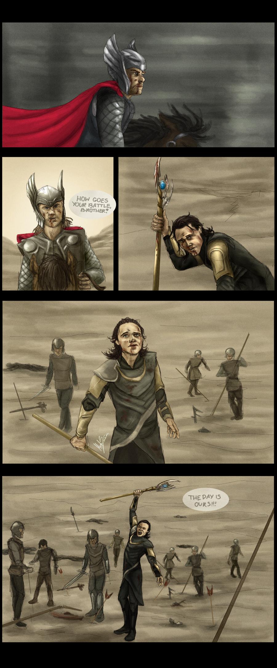Crown Prince Loki: Storyboard 1 by Beginte