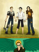 The Supernatural Wizard of Oz by Beginte