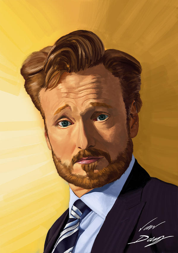 Conan O'Brien by laughinguy