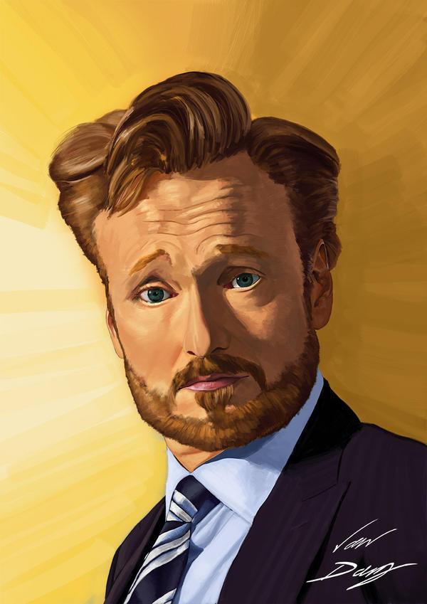 Conan O'Brien by laughinguy