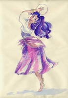 Esmeralda or THE dance-picture by itFaraday