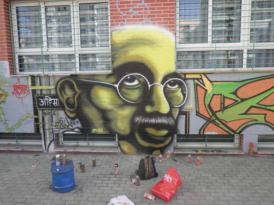 Gandhiaspla by Aspla