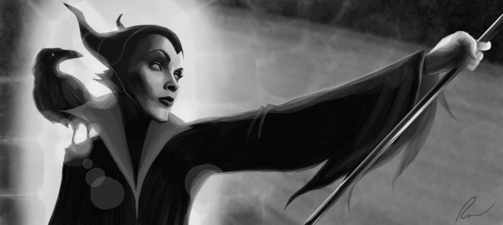 Maleficent by pixel6