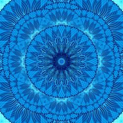 Water Weave Mandala