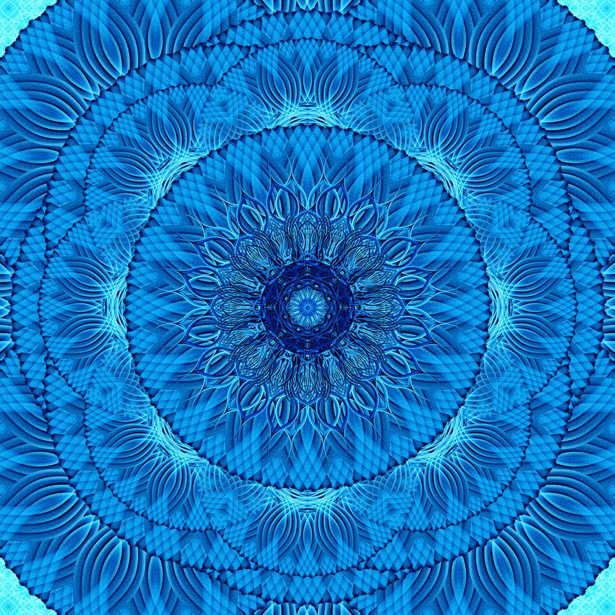 Water Weave Mandala by DrSnowCrash