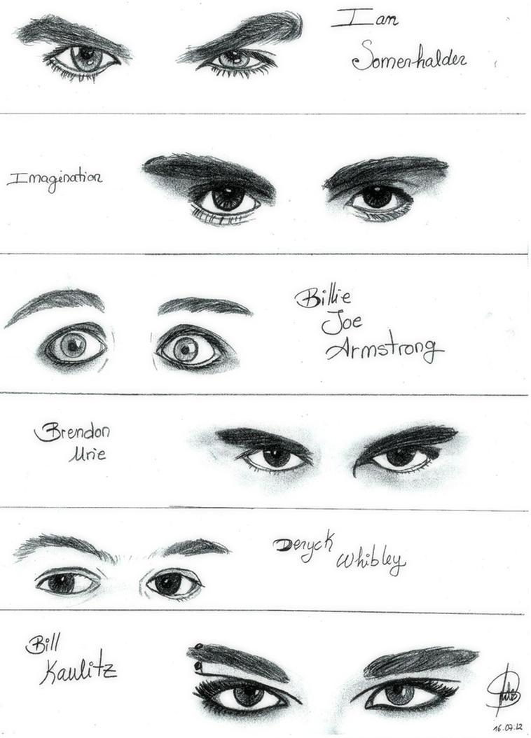 famous eyes by miniandrew on deviantart