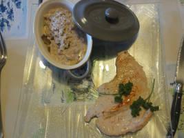 Casserole of mushroom with turkey's meat by EmiEmo02