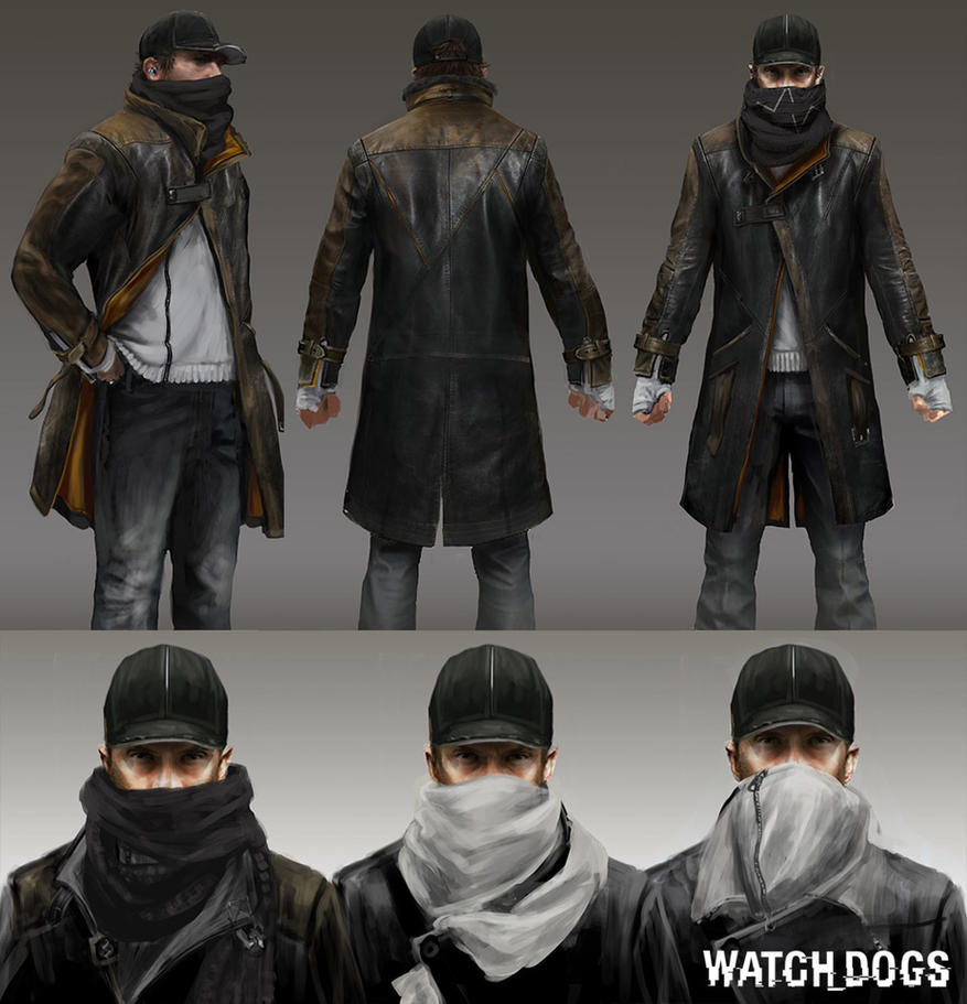 Character Design Research : Watch dogs character design research by seedseven on