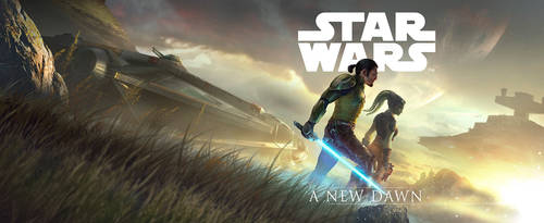 Star Wars A New Dawn (official) wide by SeedSeven