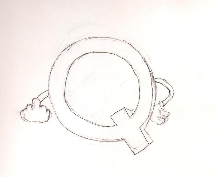 'Q' by Sariel-Lunar