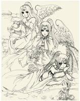 Goddesses of Fate by Joichiroll