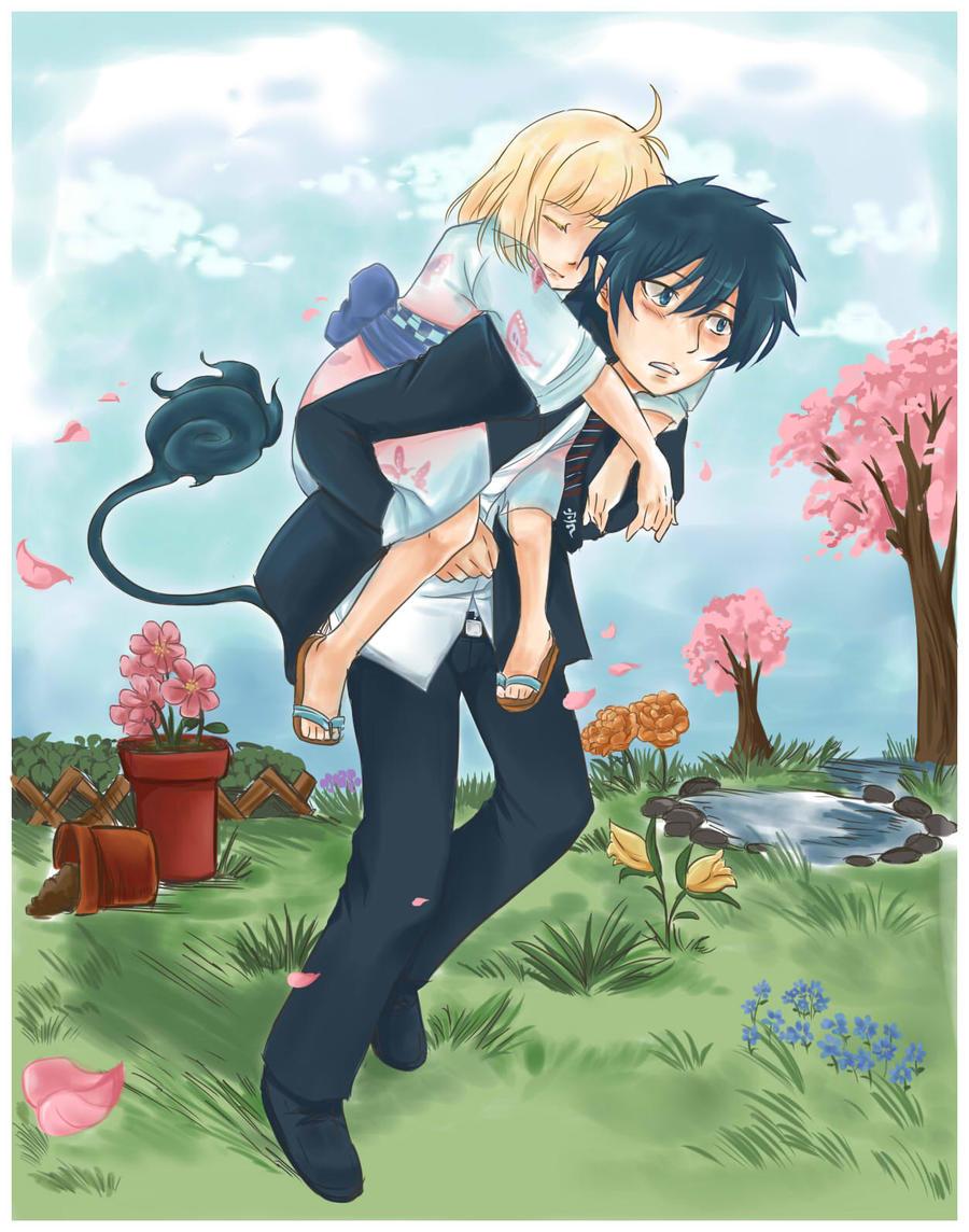 AnE: Rin and Shimei's Garden by Joichiroll