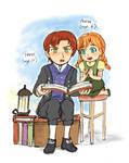 Frozen- Little Hans and Anna