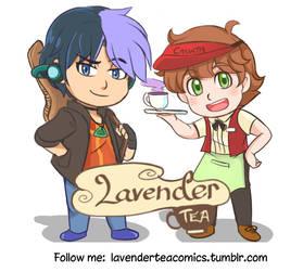 Come to Lavender Tea Comics by Joichiroll
